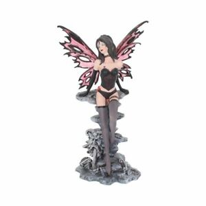 Small Scarlet Seductive Dark Fairy 29.5cm Nemesis Now Fantasy Gothic Figurine