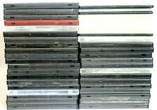 45 Standard Size And Slim DVD Cases USED (34 Standard - 11 Slim) AS IS