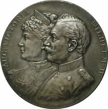 Germany, Nurnberg, Wilhelm II, 1897 Silver Medal by Lauer, Imperial Parade RARE!