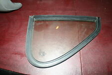 Classic Saab 900 Sedan Black Left Rear Stationary Vent Window & Seal