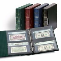 High Quality Album For Certified Graded PMG PCGS Currency Notes Bills + Slipcase