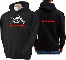 Felpa per moto DUCATI DIAVEL hoodie sweatshirt bike hoody Hooded sweater