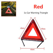 Warning Triangle Emergency Reflector Sign Road Safety with a reflective material