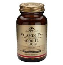 Solgar Vitamin D3 - 120 Vegetable Capsules 4000 IU