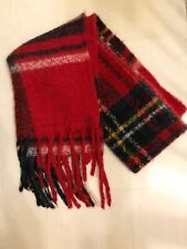 Hollister OVERSIZED Red Plaid Scarf