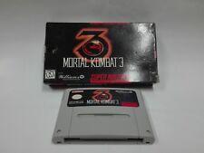 Mortal Kombat 3 (no book) (USA) per Super Nintendo SNES - PAL