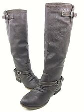 BRECKELLES OUTLAW-11 TALL RIDING BOOT WOMEN'S BROWN, SIZE 6.5 M