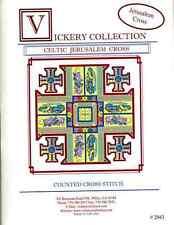 Vickery Collection Celtic Jerusalem Cross - Cross Stitch Pattern