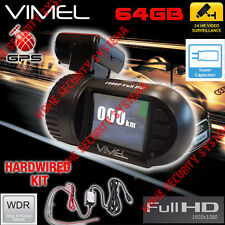 Security Camera Car GPS Hardwired Anti Theft Parking Super capacitor 1080 Truck