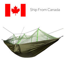 Double Camping Hammock with Mosquito/Bug Net, 440 pounds Capacity for Camping