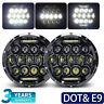 Land Rover Defender Td5 TDCI 90/110/130 Light LED Upgrade 7inch led headlights
