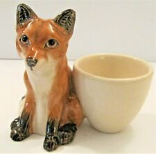 More details for beswick animal novelty figurines - this one is the fox egg cup - new for 2020