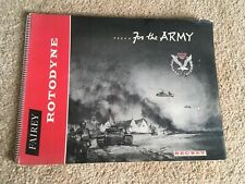 1958 RARE Fairey Rotodyne For The Army Secret Aircraft/Helicopter Sales Brochure