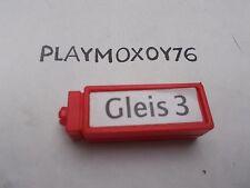 PLAYMOBIL. TIENDA PLAYMOXOY76. PIEZA REF. 4382 ESTACIÓN DE TREN.