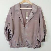 [ SUSSAN ] Womens 3/4 Sleeve Zip Up Jacket NEW RRP $119.95  | Size AU 16 or US 1