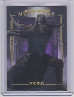 2020 Topps Star Wars Masterwork VICRUL # 41 Purple Parallel Card # 45/50