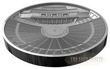 EPIDAURUS GREEK THEATRE - HISTORY OF THEATRE - 2016 3 oz Silver Concave Coin