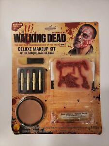 Walking Dead Deluxe Makeup Kit Zombie Fancy Dress Halloween Costume Accessory