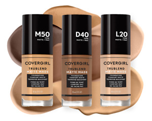 CoverGirl Tru Blend Matte Made Foundation CHOOSE YOUR SHADE