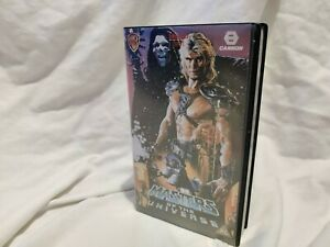 🤖 MASTERS OF THE UNIVERSE: VHS cassette video tape Heman he-man cannon