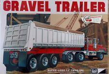 MPC823 - Gravel Trailer 1/25 Scale Plastic Model Trailer Kit - MPC-823