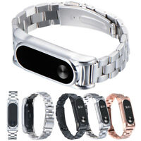 For Xiaomi Mi Band 2 Stainless Steel Luxury Wristband Metal Ultrathin Strap
