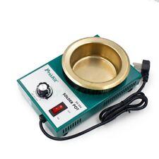 300W Lead Free Solder Pot Tin Melting Furnace Desoldering Bath 100mm 2.2kg 220V