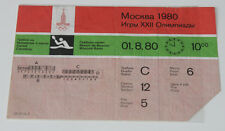 Ticket collectors Olympic Moscow 1980 * Canoeing 1.08.1980