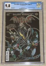 DARK NIGHTS: THE BATMAN WHO LAUGHS #1  CGC 9.8 (2018) (DC Comics) Origin !!