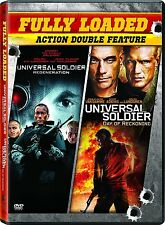 UNIVERSAL SOLDIER DOUBLE JEAN CLAUDE VAN DAMME REGENERATION DAY OF RECKONING