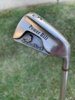 Vintage Power Bilt Thoroghbred 6-iron Golf Club Steel Shaft R-Flex RIght-Handed