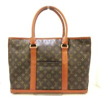 Auth LOUIS VUITTON Sac Weekend PM M42425 Monogram TH0910 Tote Bag
