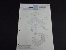 Original Service Manual Telefunken studio center 7004 hifi Recorder HCC 6B-H