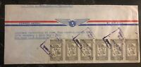 1950 Caracas Venezuela Airmail Cover To New York USA Holocaust Surviver