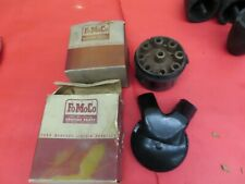 NOS 1946 1947 1948 Ford inner and outer distributor caps   F-3-12