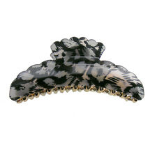 Hair Accessory - Large Leopard Skin Hair Jaw Claw Clips (STS02005)