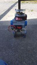 Jamesbury gate valve with actuator and Quartz valve monitor VPVL200DABD