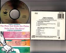 VIRGIL THOMSON- Plow that Broke Plains - Suite from The River CD STOKOWSKI 1987