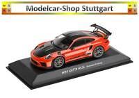 Porsche 911 GT3 Rs Lava Orange Weissach Package Minichamps 1:43 WAP0201620J New