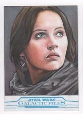 2017 Star Wars Galactic Files Reborn sketch card Mike James