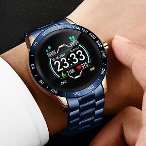 Smart Watch Heart Rate Monitor Blood Pressure Fitness Tracker Remote Camera