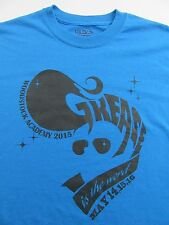 """""""GREASE"""" is The Word 50s Musical  WOODSTOCK ACADEMY 2015 Souvenir T Shirt Size M"""