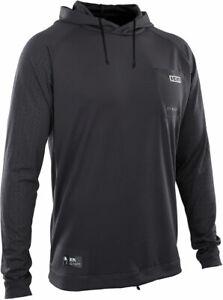 ION Surf Lycra T-Shirt WETSHIRT HOOD LS Riding Hoodie 2021 black Wassersport