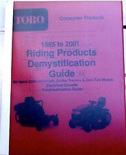 Wheel Horse 85-01 Electrical Circuits Guide-Abridged: Rear Eng., Lawn, Yard&Gard