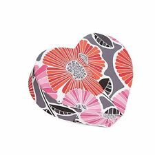NWT Authentic Vera Bradley Heart to Heart Jewelry Case in Cheery Blossoms