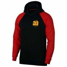 Men's SZ L  Nike Air Jordan Retro 13 Jumpman Hoodie AR9780-010 Black//Red-Gold