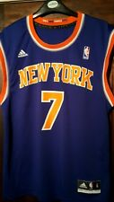 NBA di New York Knicks ANTHONY 7 Basket Top Jersey