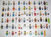 Lego ® Minifigure Figurine City Homme ou Femme + Accessoires Choose Minifig NEW