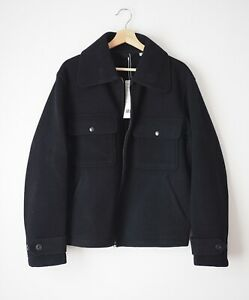 Lemaire X Uniqlo U Men's Wool Blend Pocket Fleece Jacket Techwear New Size M, L