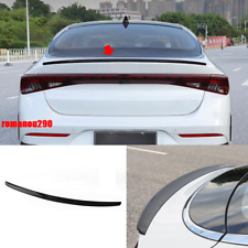 Fit For NEW Kia K5 2021 ABS Rear Door Tail Trunk Spoiler Wing Lip Glossy Black